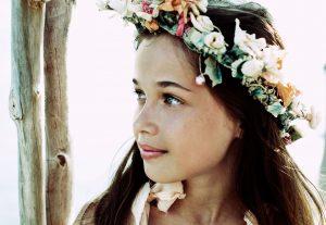 girl with coronal