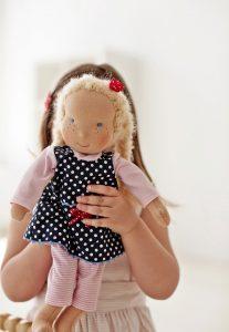 blonde puppet