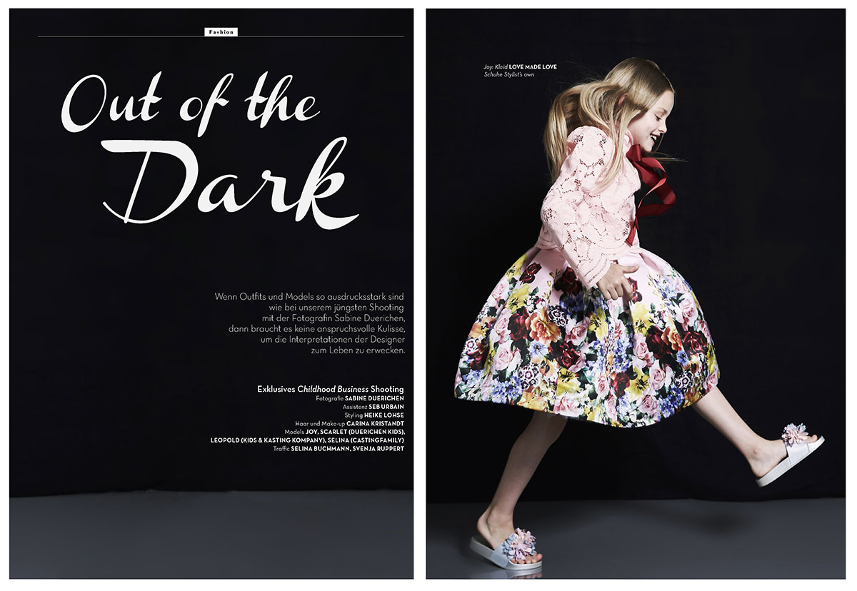girl with dress dancing in the dark