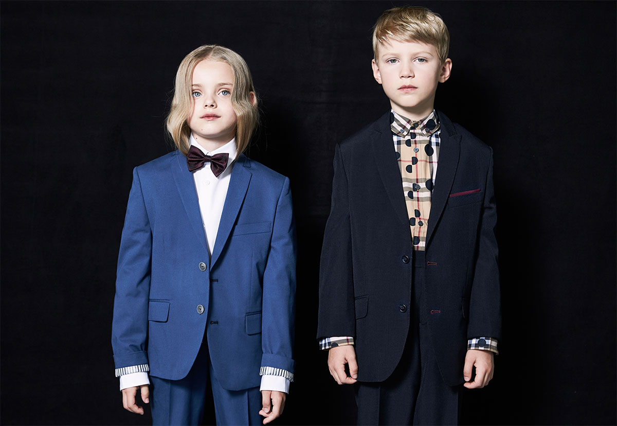 boys formely dressed